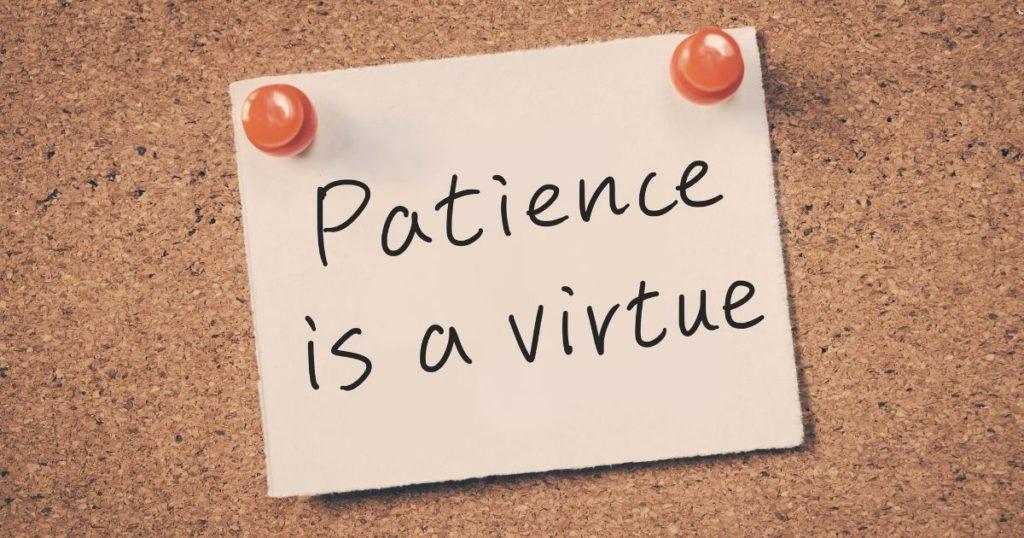 patience postpartum healing